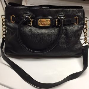 Michael Kors leather lager purse